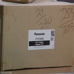 Panasonic DLP Projector In Box