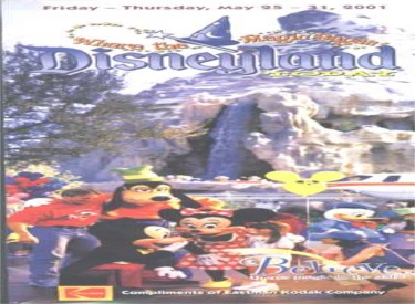 2001 Guide Cover