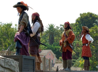 Jack Sparrow And Pirates