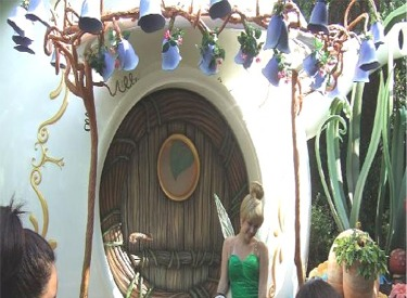 Tinkerbell And Fairie House