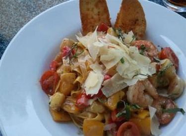 Shrimp And Pineapple Pasta