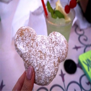 Mickey Shaped Beignets