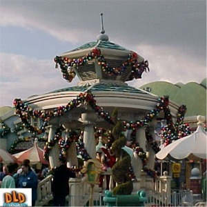 Christmas Decorations On Toon Town Gazebo