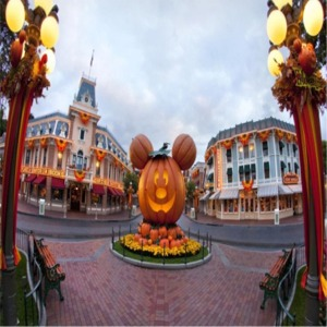 Giant Pumpkin On Main Street