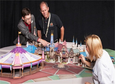 Imagineers With Model