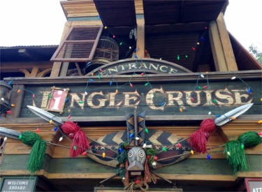 Jingle Cruise Sign