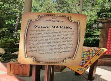 Quilt Making Sign