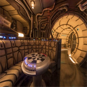 Inside Millennium Falcon Smugglers Run