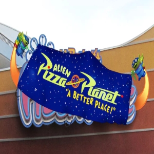 Alien Pizza Planet Tour