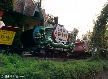 Casey Jr. Circus Train In Station