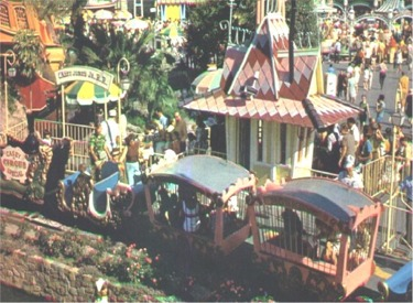 Original Casey Jr. Circus Train And Station