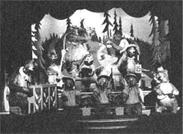 Stage With The Whole Cast