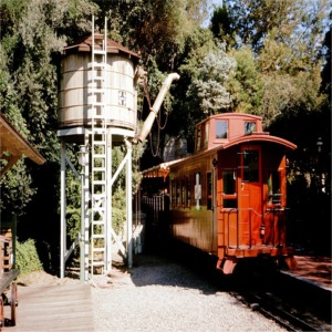 C K Holiday Leaving Frontierland Station