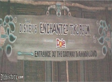 Tiki Room Sign