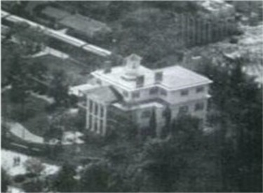 Aerial View Of Mansion