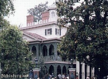 History Of Haunted Mansion