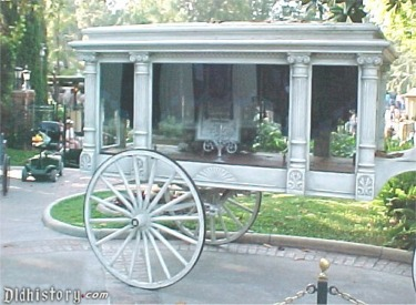 Close Of The Horse Drawn Hearse