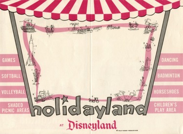 Holidayland Promo Items