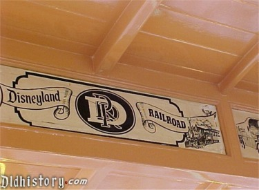 Inside Horse-Drawn Street Car Disneyland Railroad Ad