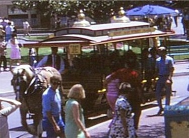 Horse-Drawn Street Car