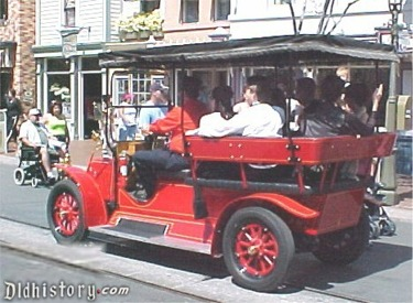 Red Horseless Carriage