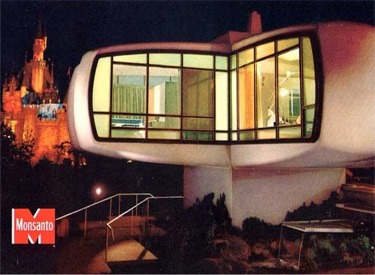 House Of The Future Post Card