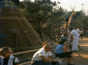 Indian Village Teepees