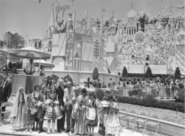 Walt Christening It's A Small World