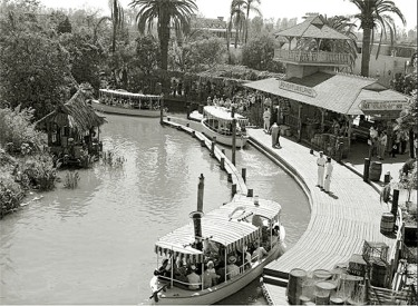 Aerial View Of Original Jungle Boat