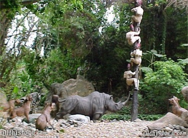 Safari Party and Rhino