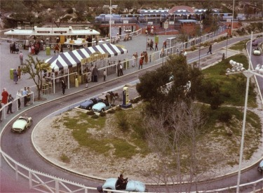 Aerial View Of Junior Autopia