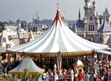 Carrousel In Original Location