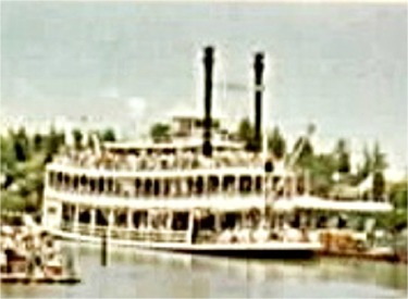 Mark Twain At Dock