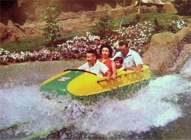 Original Bobsled In Splashdown