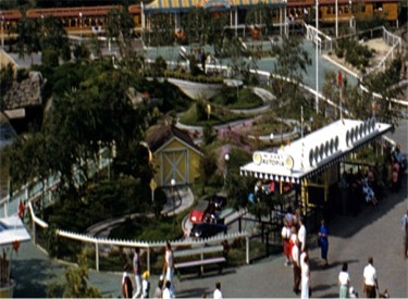 Aerial View Of Midget Autopia