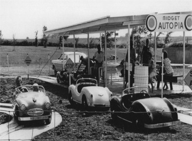 Midget Autopia Operating In Marceline Missouri