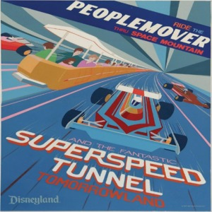 PeopleMover Super Speed Tunnel Poster