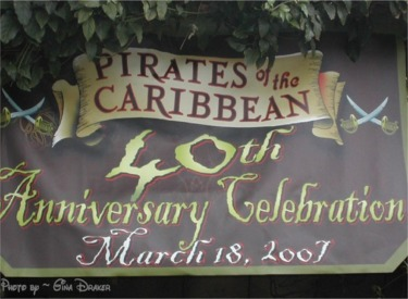 Pirates 40th Sign