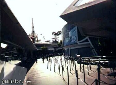 View Of Rocket Jets From Star Tours