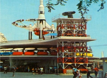 Rocket Jets And People Mover