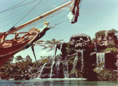 Skull Rock And Bow Of Chicken Of The Sea Restaurant