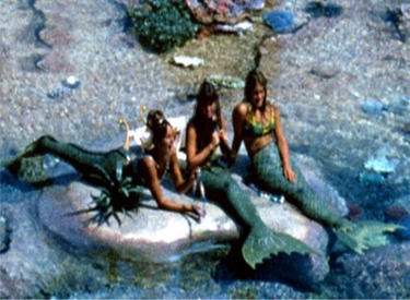 3 Mermaids In Lagoon