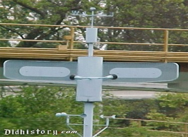 Close Up Of Radar Mast