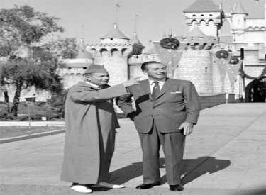 King Mohammed V And Walt Disney