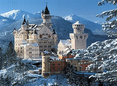 Neuschwanstein Castle-Sleeping Beauty Castle Was Patterned After