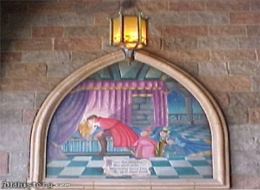 Sleeping Beauty Mural