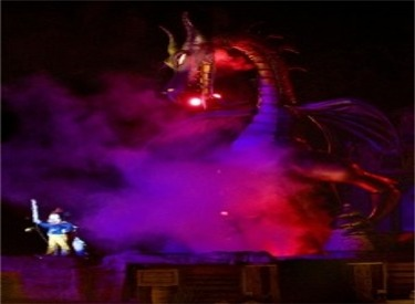 New Maleficent Dragon And Mickey Mouse