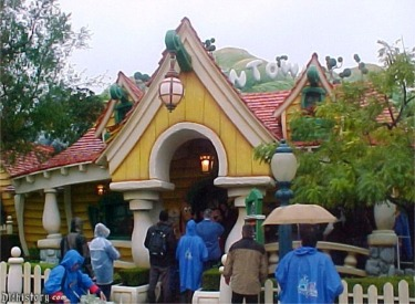 Front Of Mickey's House