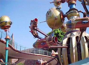 Astro Orbitor With Rockets Flying