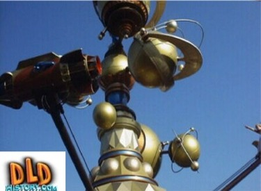 Close Up Of Astro Orbitor Planets And Rocket